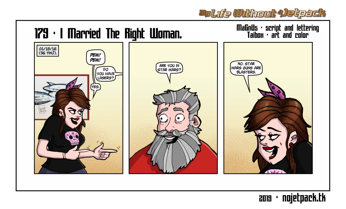 179 - I Married The Right Woman.