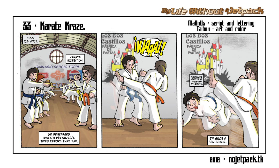 33 - Karate Kraze.