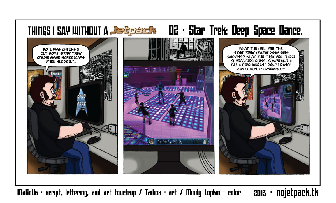 Things I Say Without A Jetpack 02 - Star Trek: Deep Space Dance.