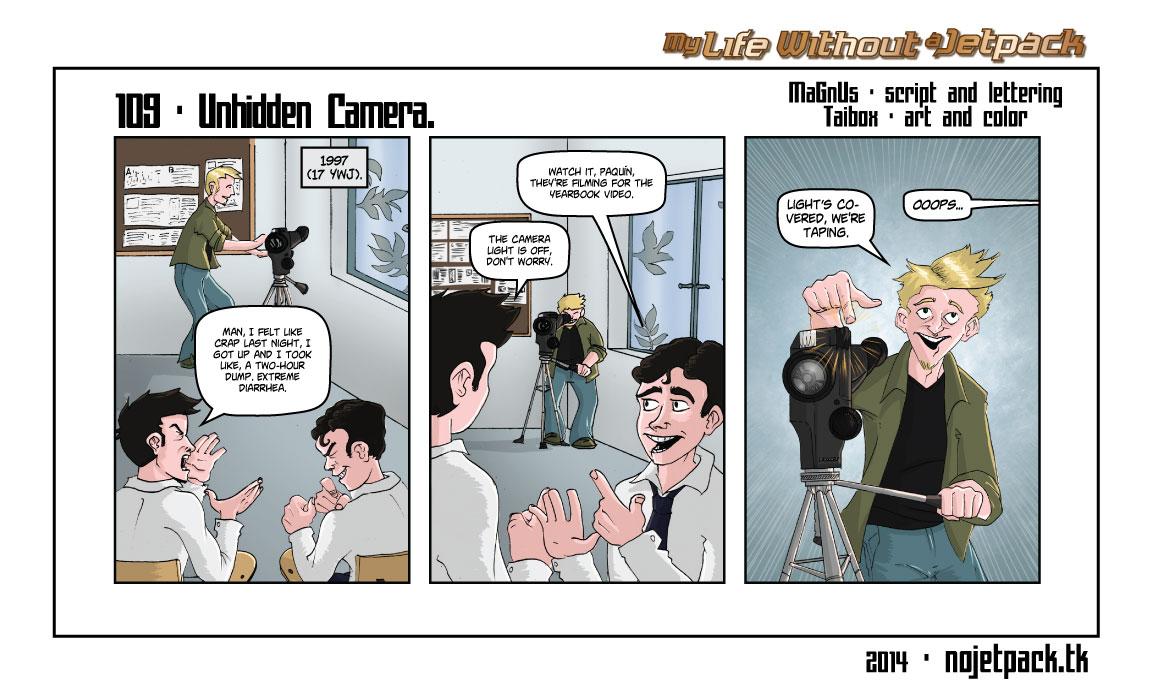 109 - Unhidden Camera.